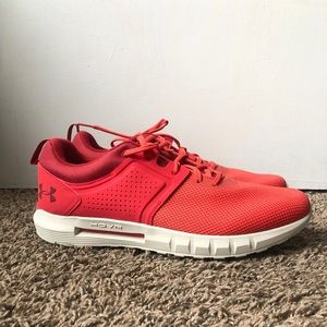 Under Armour Men's size 12 Hovr CTW Red Shoes